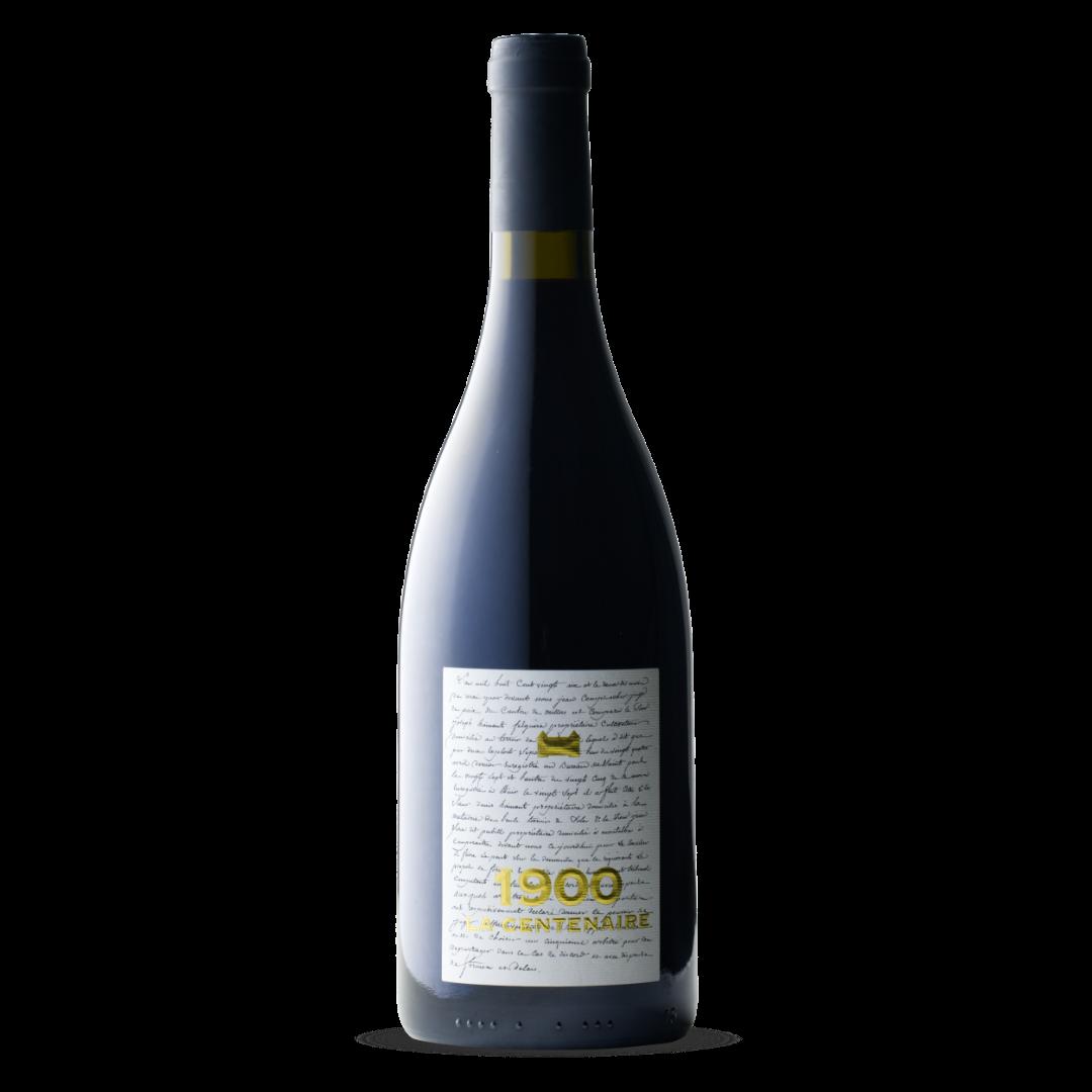 vin rouge 1900 la centenaire