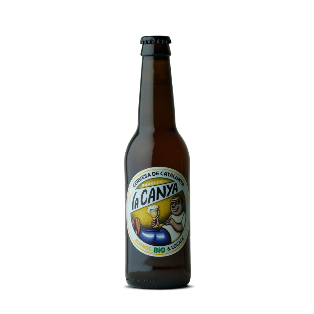 biere blonde bio et locale brasserie la canya