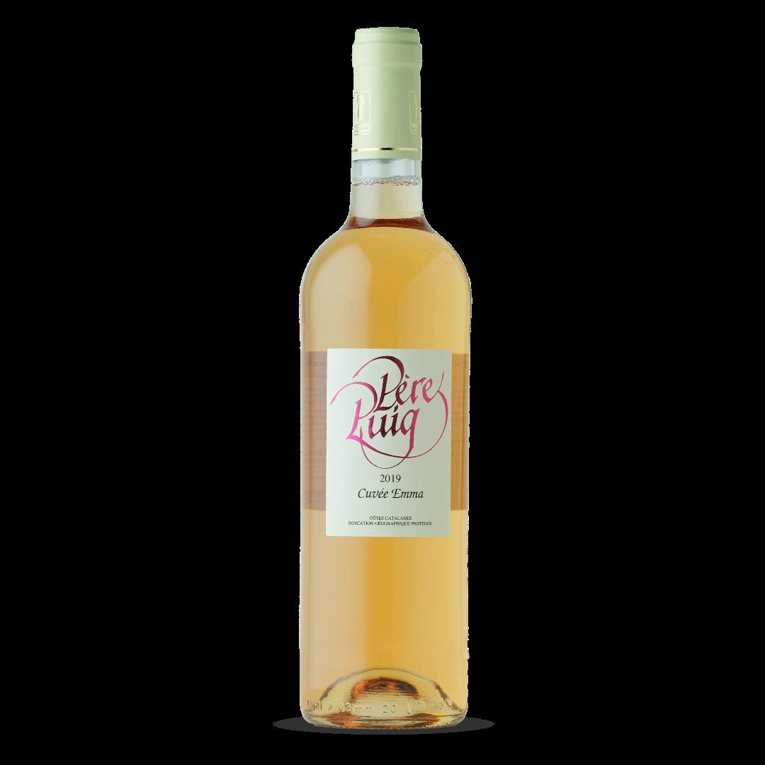 vin rosé cuvée emma cotes catalanes IGP pere puig claira