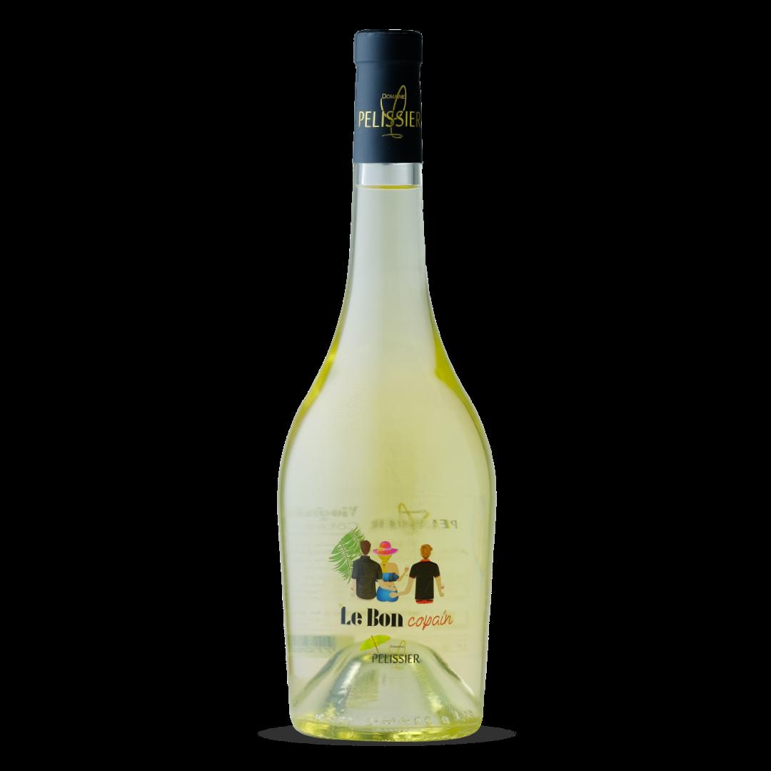 vin blanc le bon copain domaine pelissier