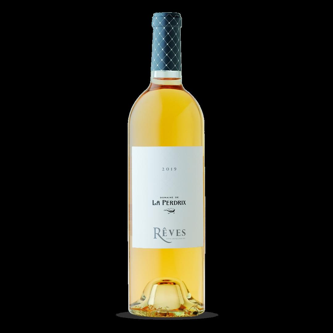vin rosé reves cotes du roussillon domaine de la perdrix