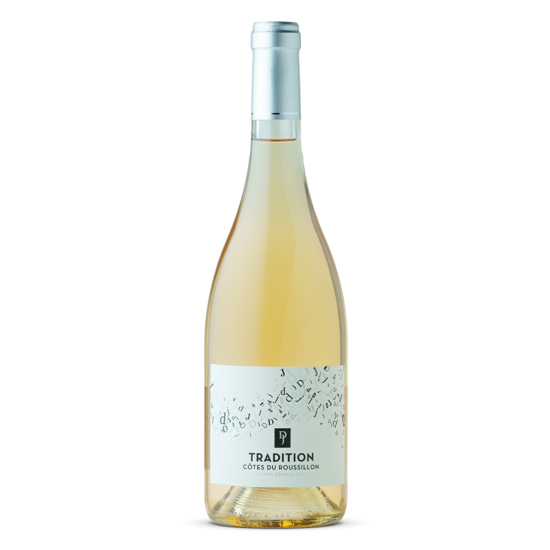 vin rose tradition cotes du roussillon domaine deprade jorda