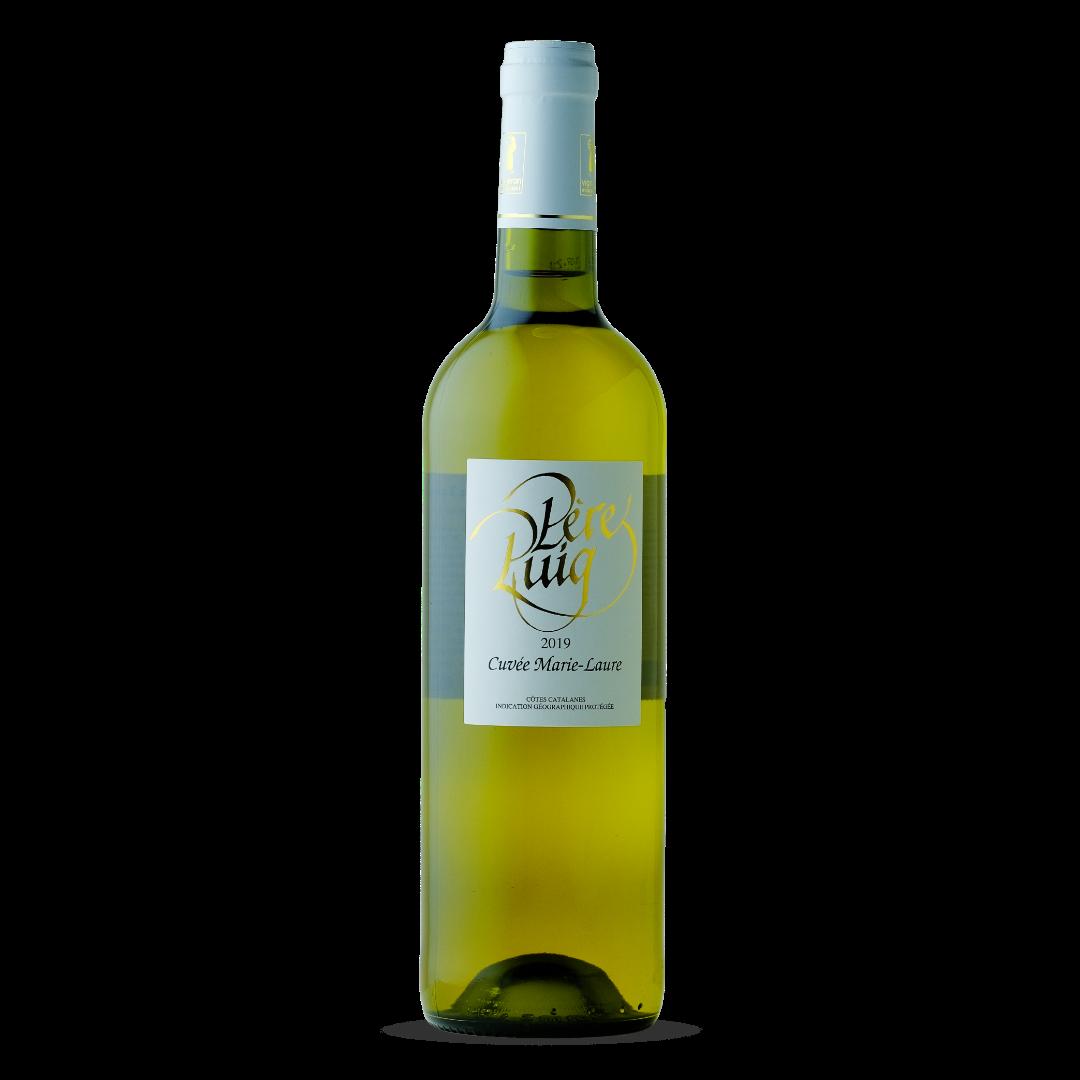 vin blanc cuvée marie-laure cotes catalanes IGP pere puig claira