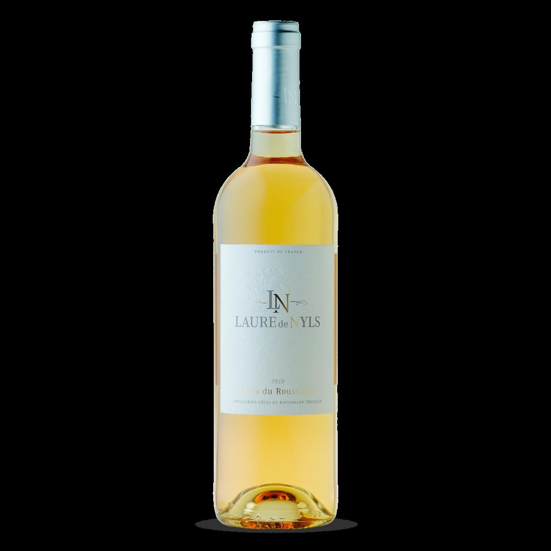 vin rose cotes du roussillon appelation cotes du roussillon protegée Laure de Nyls