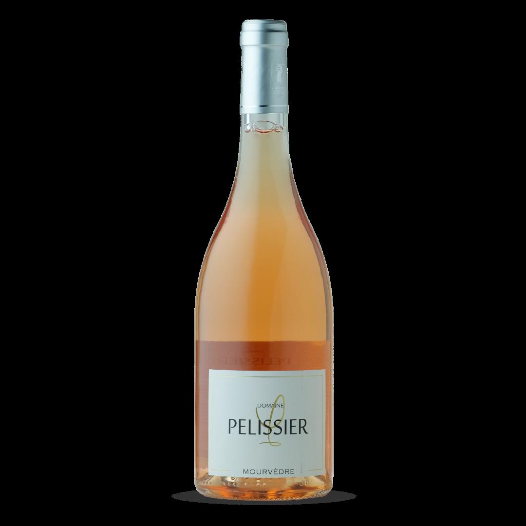 vin rosé mourvedre domaine pelissier