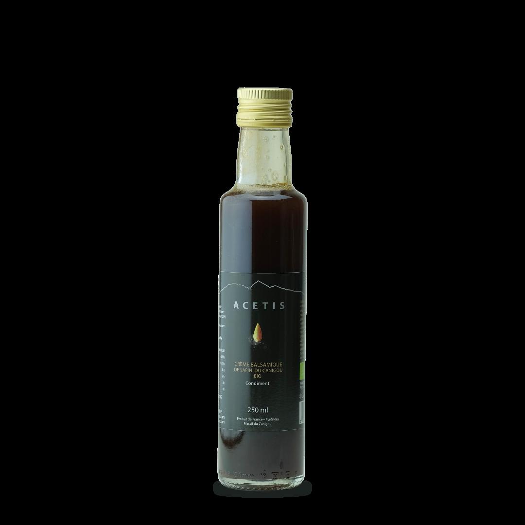 acetis creme de vinaigre balsamique de sapin du canigou bio abies lagrimus