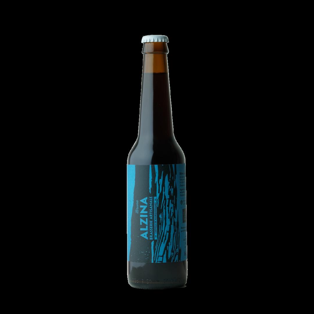 Biere brune Alzina brasserie artisanale