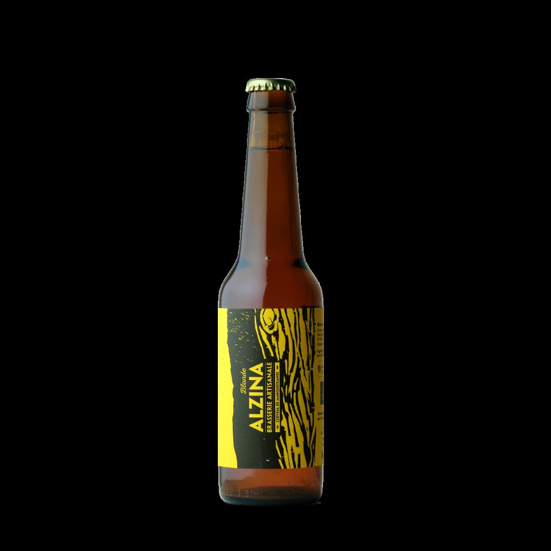 biere blonde alzina brasserie artisanale