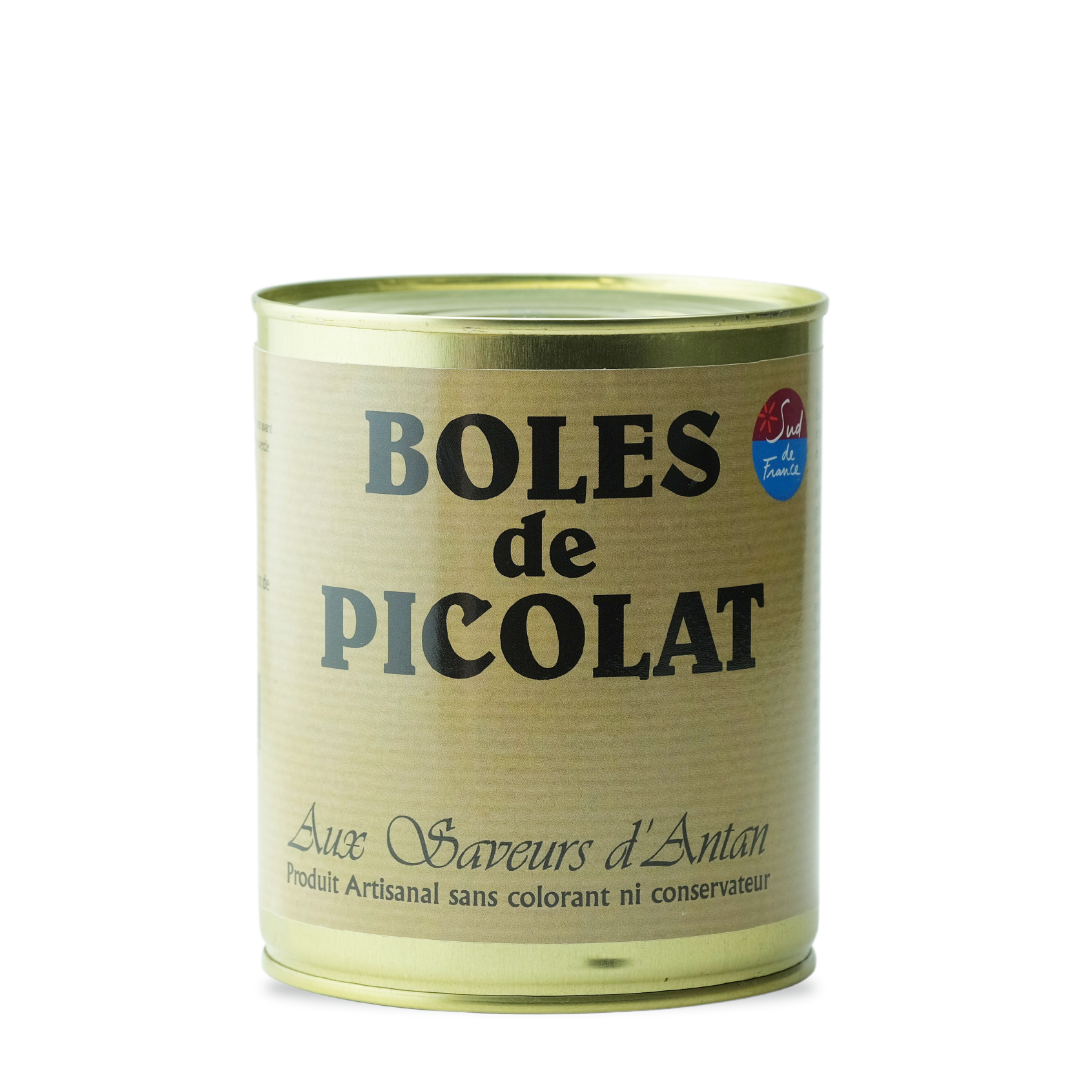 aux saveurs d'antan boles de picolat produit artisanal sans colorant ni conservateur