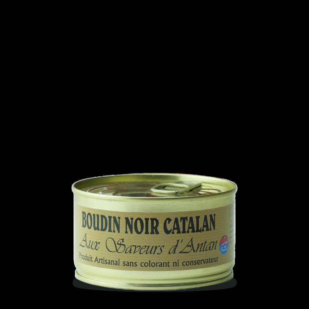 aux saveurs d'antan boudin noir catalan produit artisanal sans colorant ni conservateur