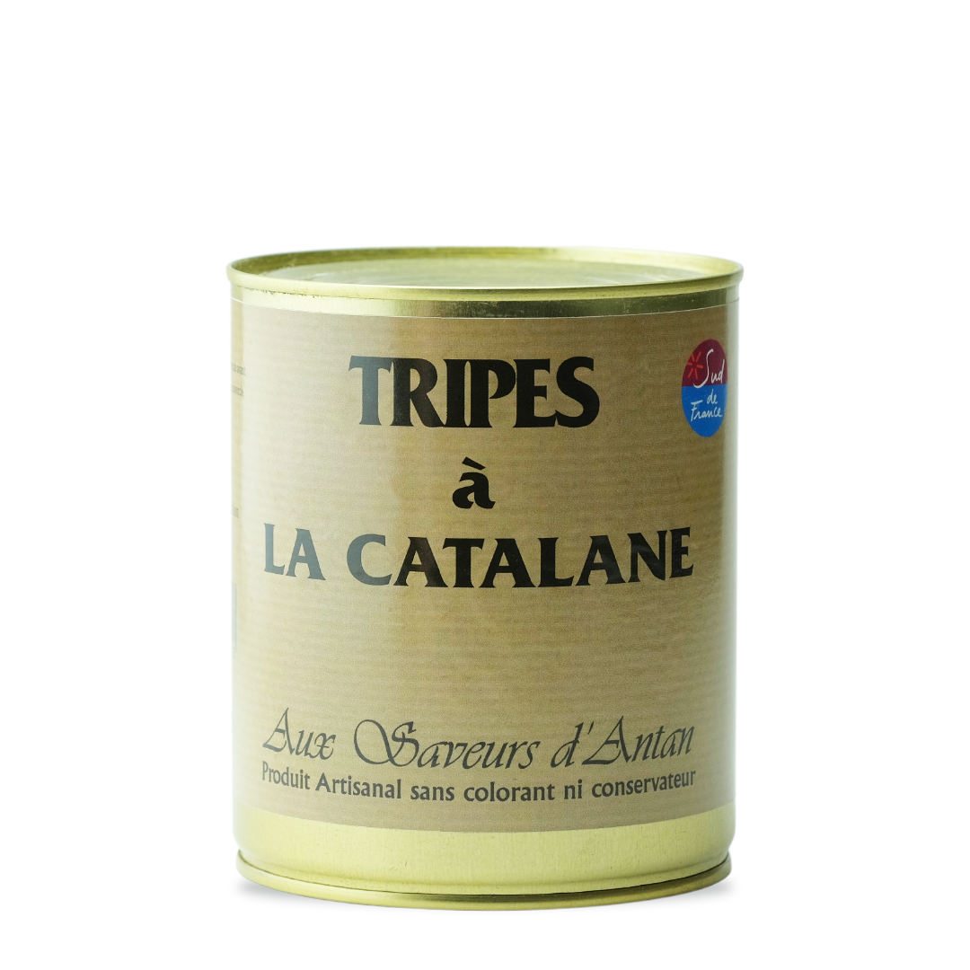 aux saveurs d'antan tripes à la catalane produit artisanal sans colorant ni conservateur