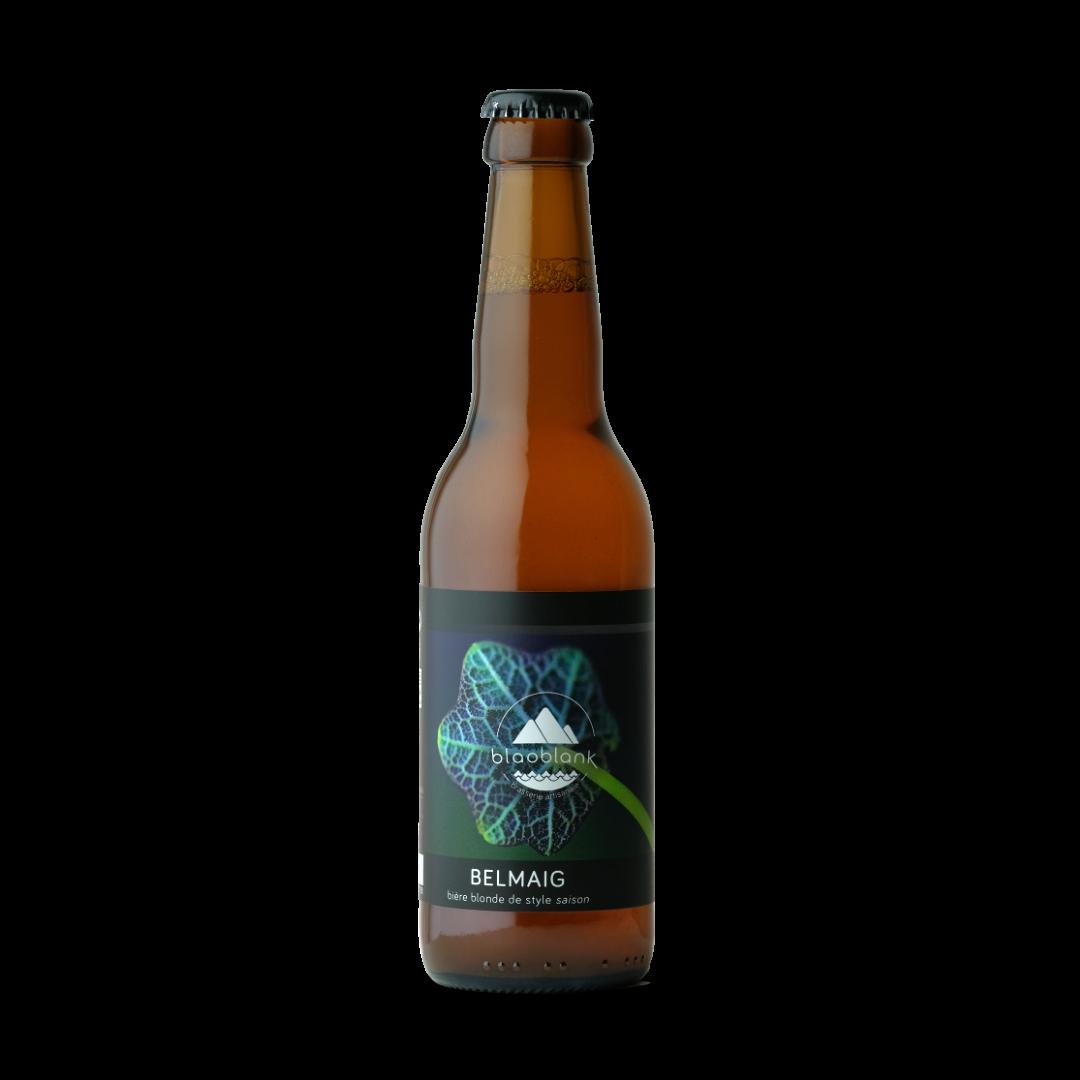 biere blonde de style saison belmaig blaoblank