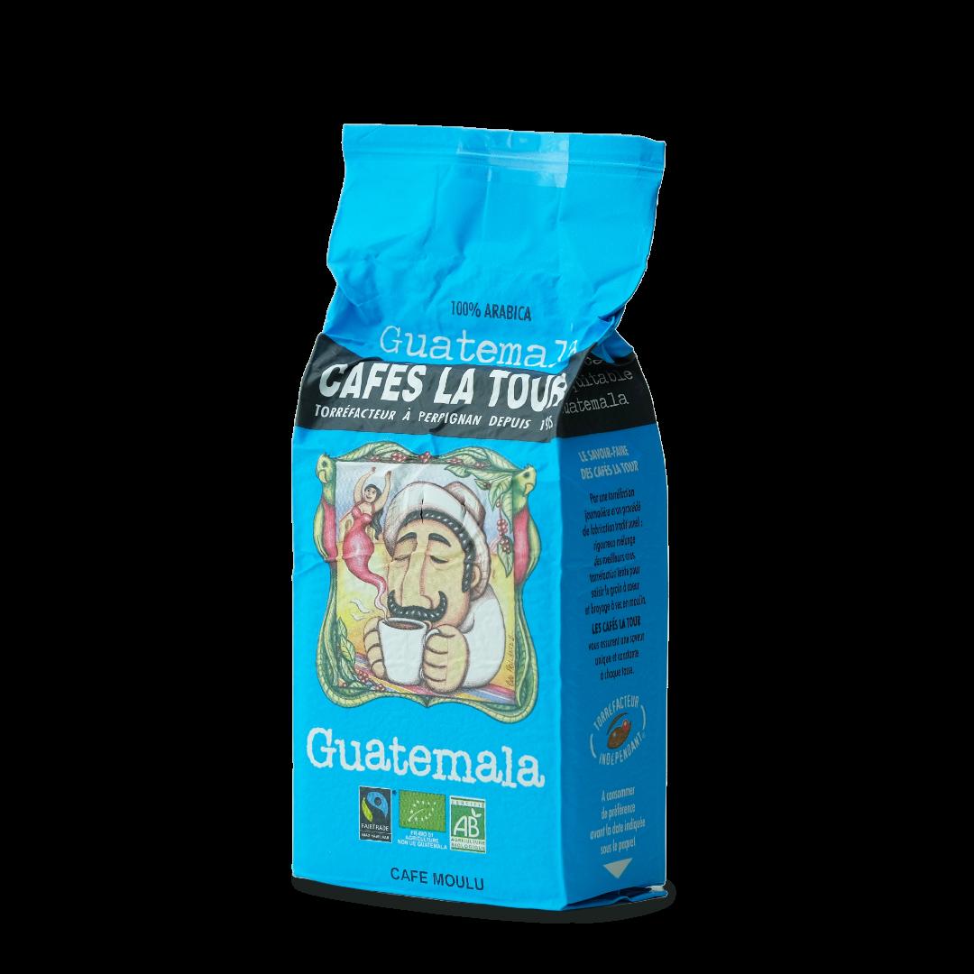 cafes la tour guatemala cafe moulu bio