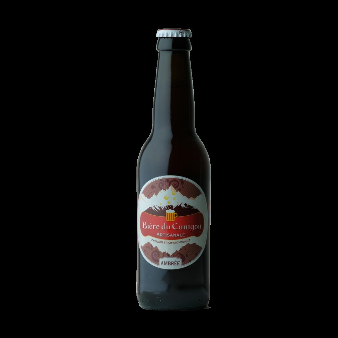 biere du canigou artisanale ambree