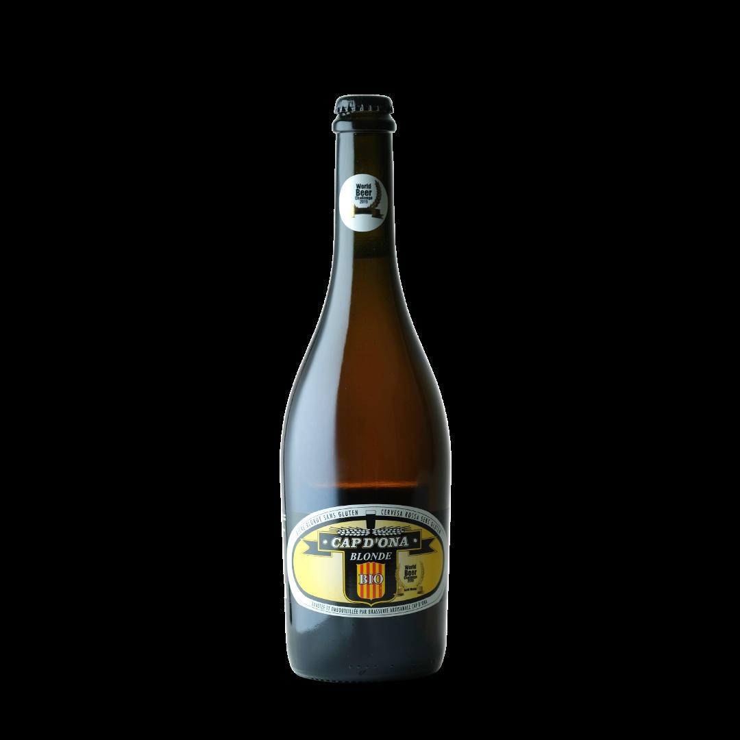 Bière Blonde Cap d'Ona 75cl