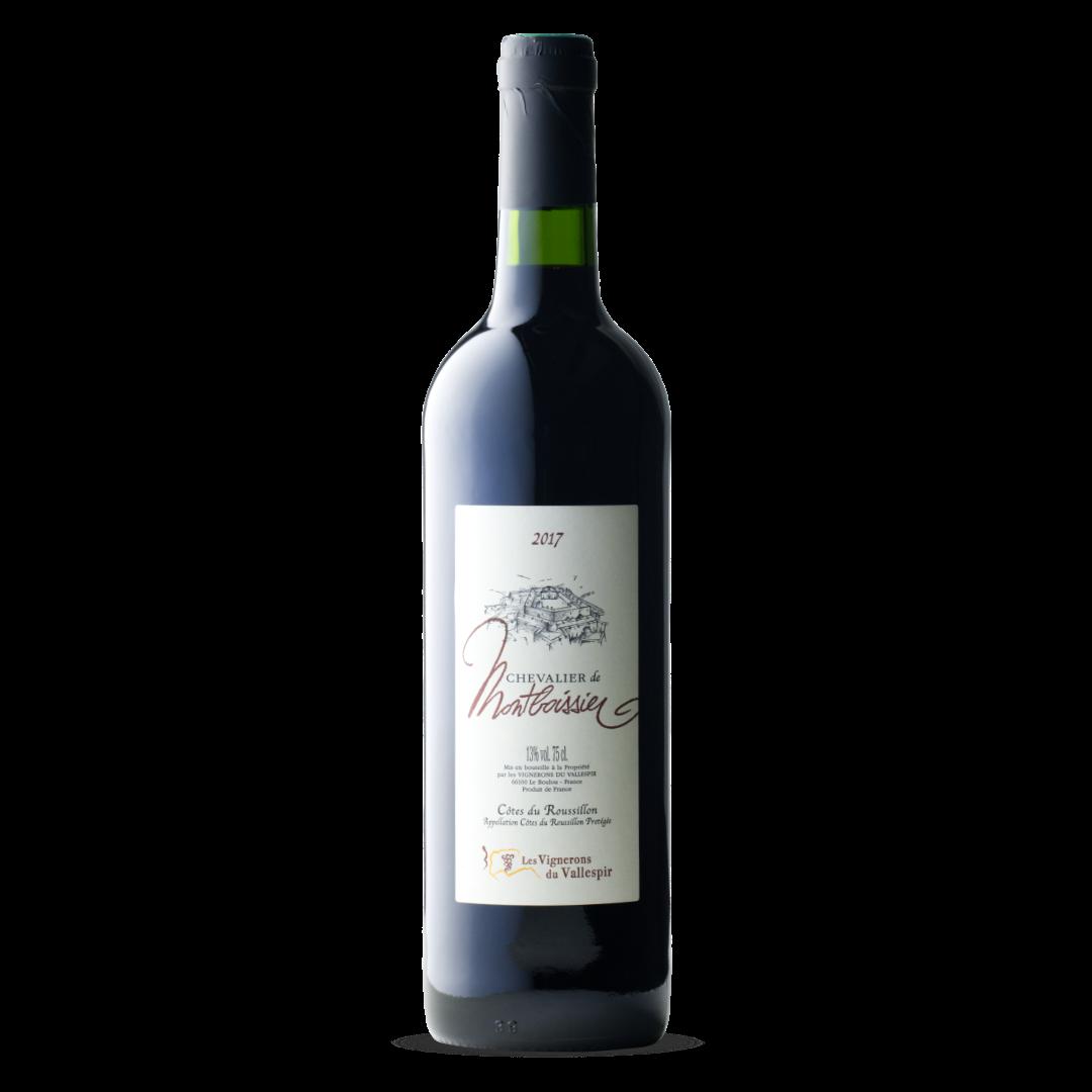 vin rouge chevalier de montboissier cotes du roussillon AOP les vignerons du vallespir