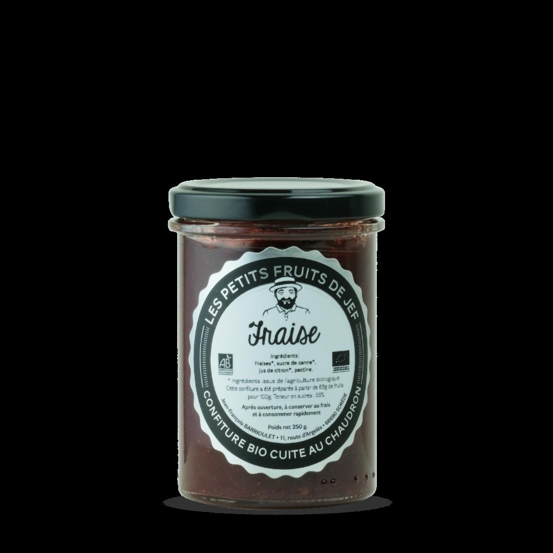 confiture de fraise les petits fruits de jef confiture bio cuite au chaudron