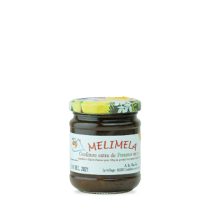 melimela confiture extra de pommes au miel a la ruche