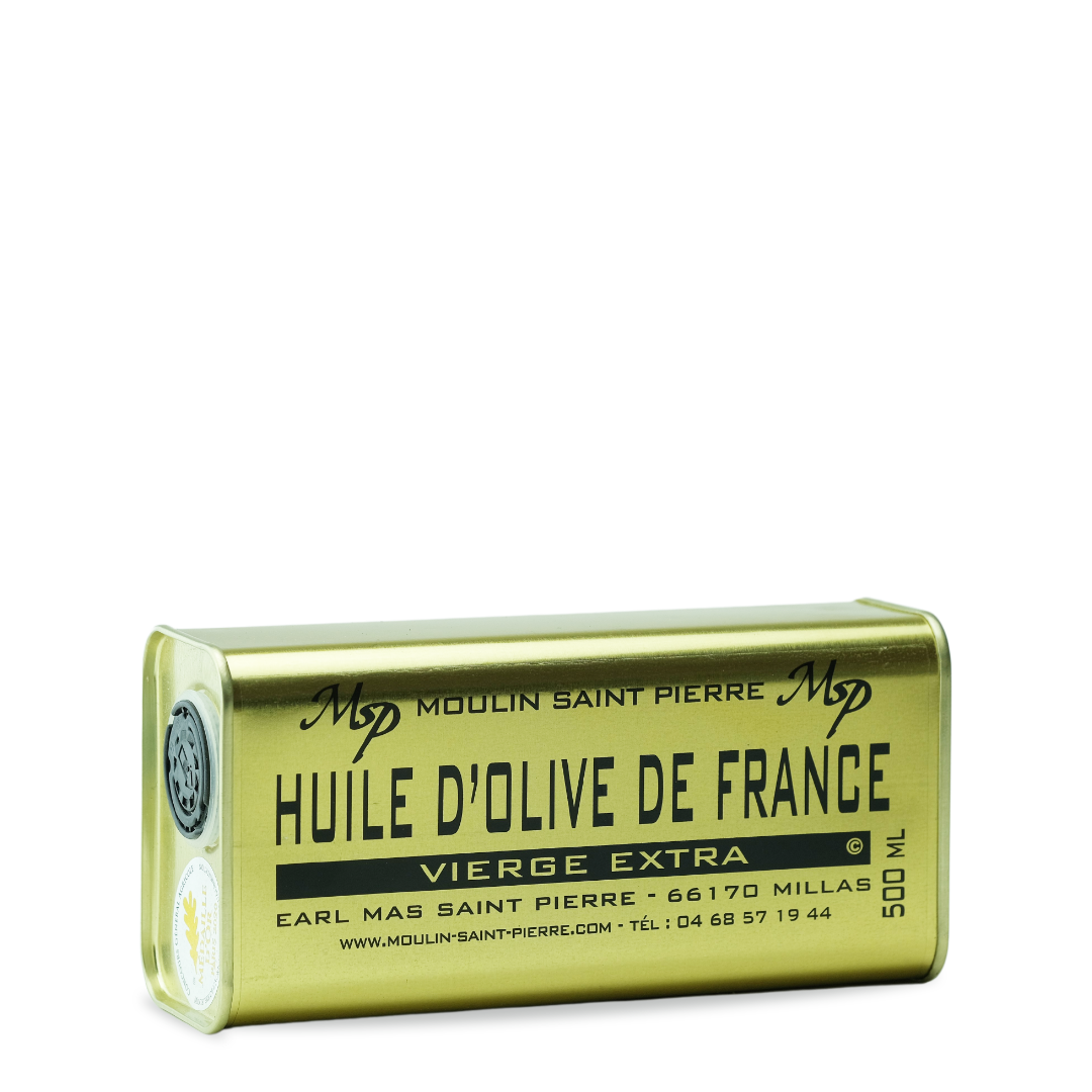 moulin saint pierre huile d'olive de france vierge extra 500 ml