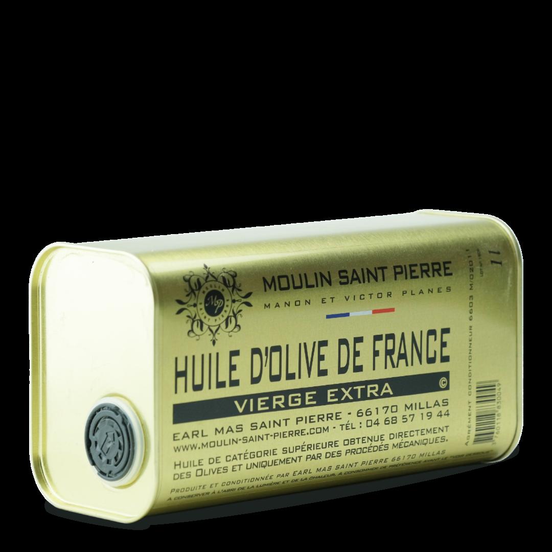 moulin saint pierre huile d'olive de france vierge extra 1 l