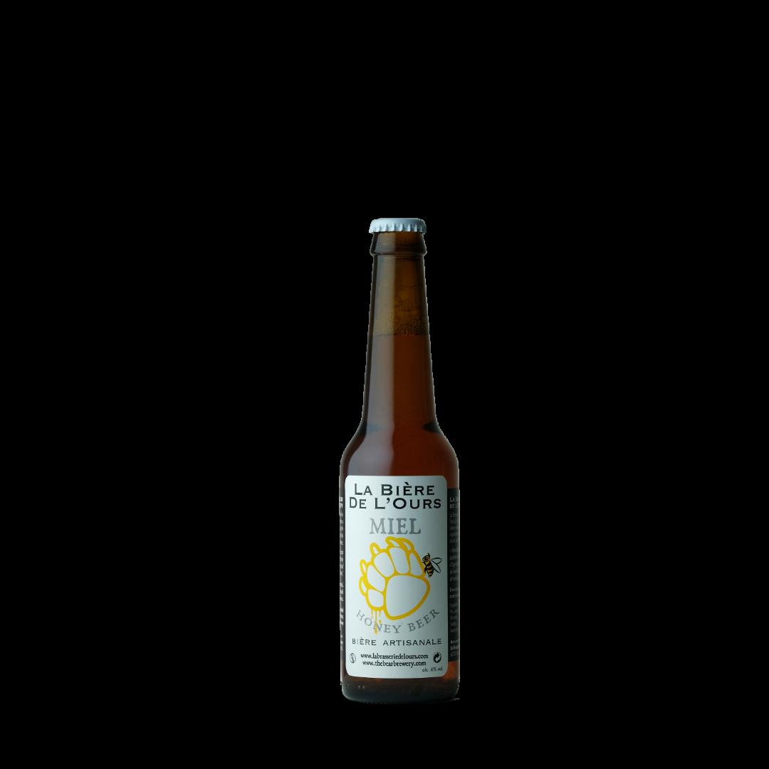 biere au miel honey beer la biere de l'ours biere artisanale