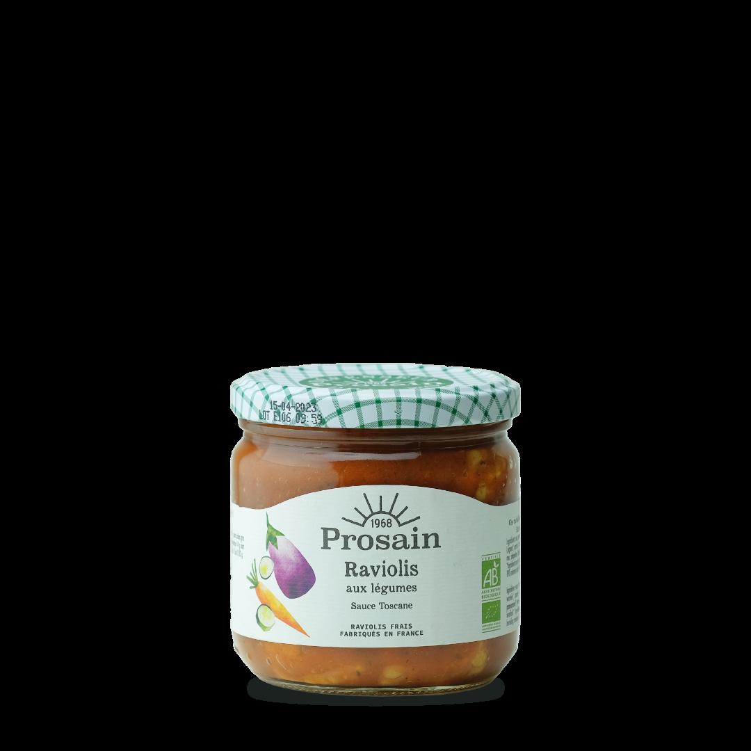prosain raviolis aux légumes sauce toscane bio petit
