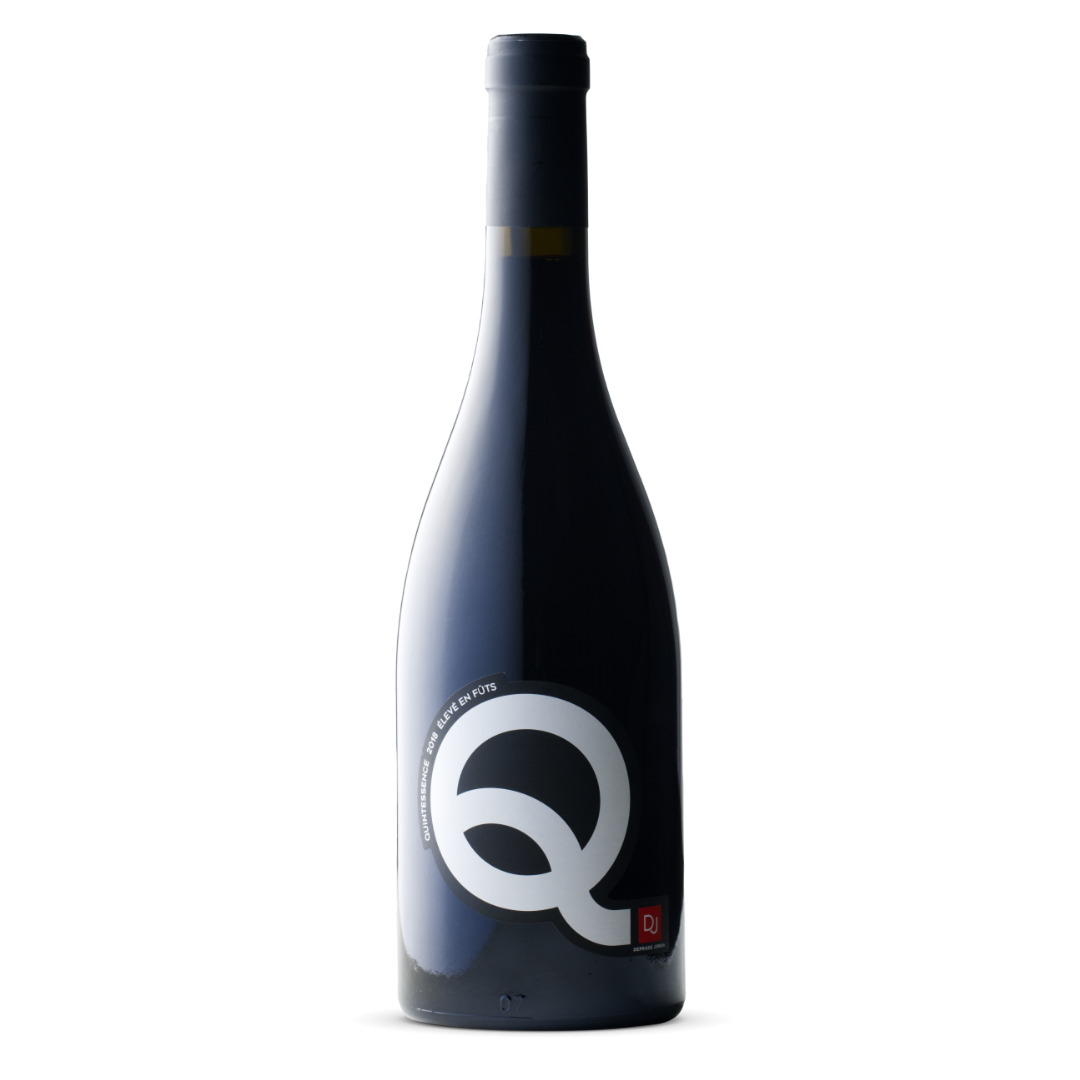vin rouge quintessence elevé en futs domaine deprade jorda