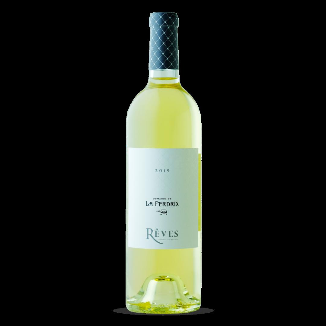 vin blanc reves cotes du roussillon domaine de la perdrix