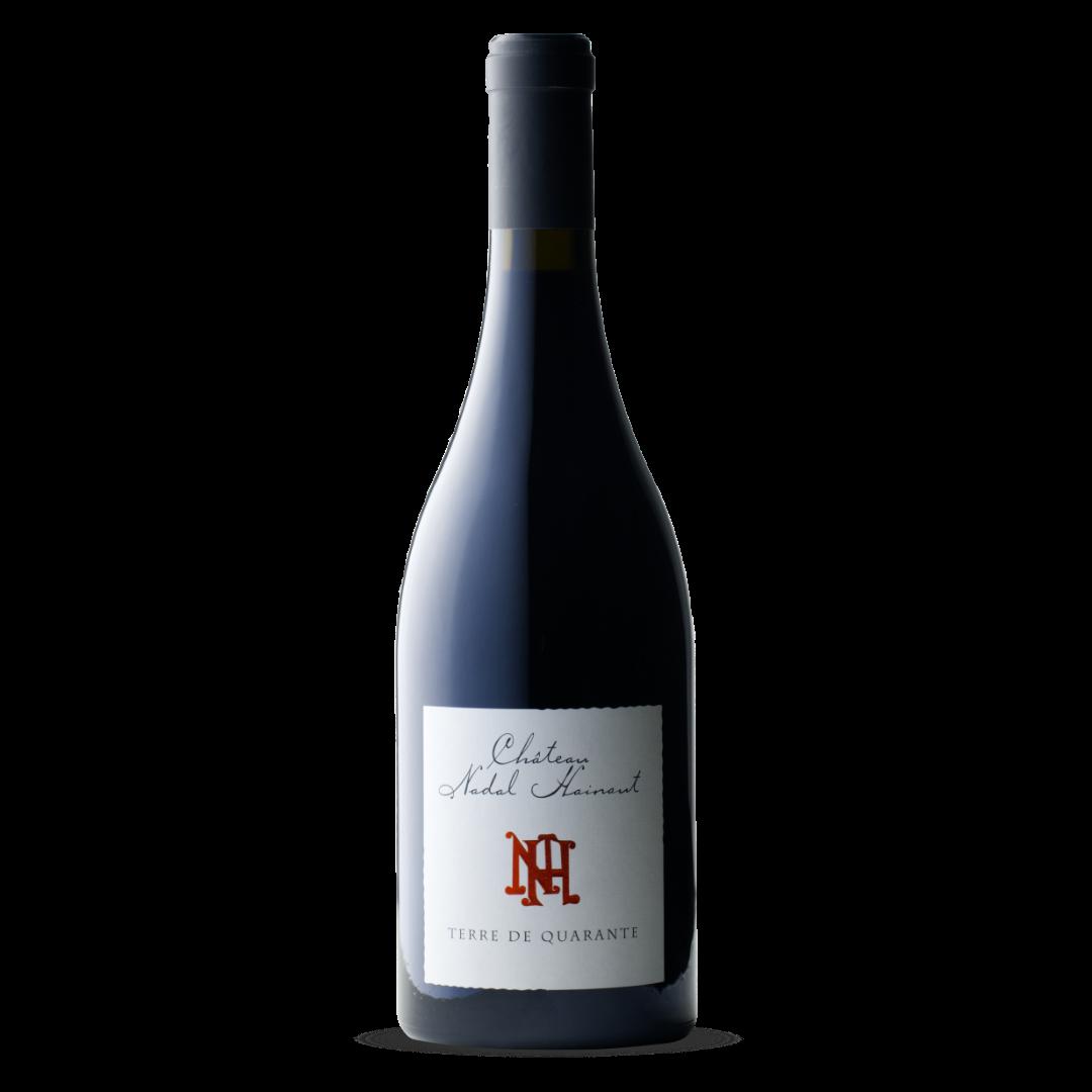 vin rouge terre de quarante chateau nadal hainaut