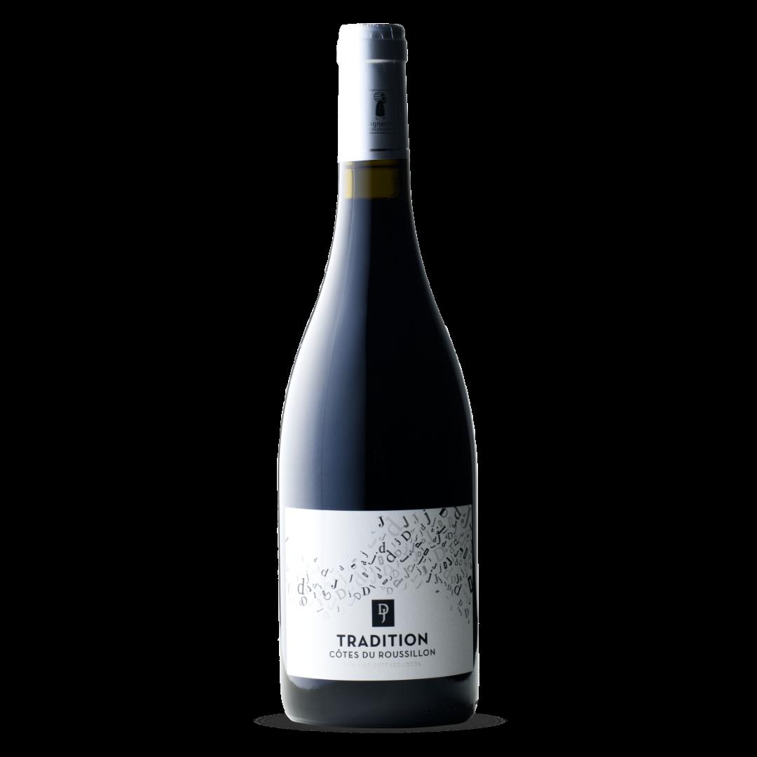 vin rouge tradition cotes du roussillon AOP domaine deprade jorda
