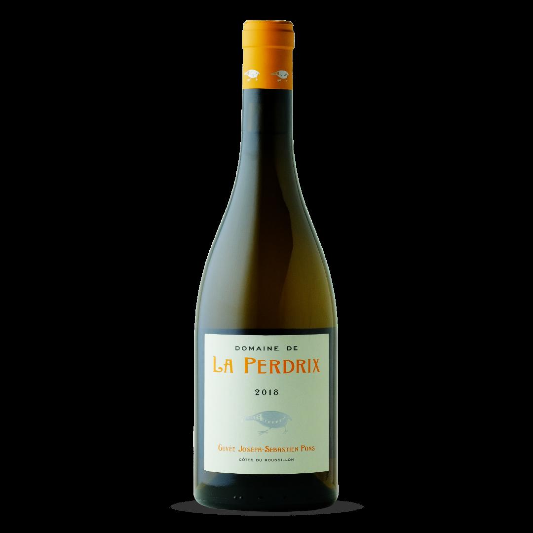 vin blanc cuvée joseph-sebastien pons cotes du roussillon domaine de la perdrix