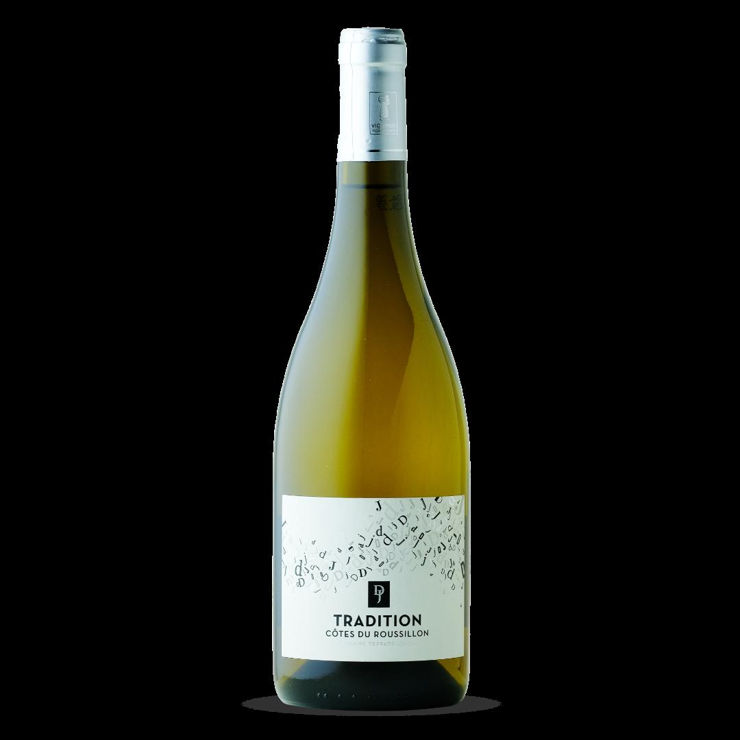 vin blanc tradition cotes du roussillon aop domaine deprade jorda
