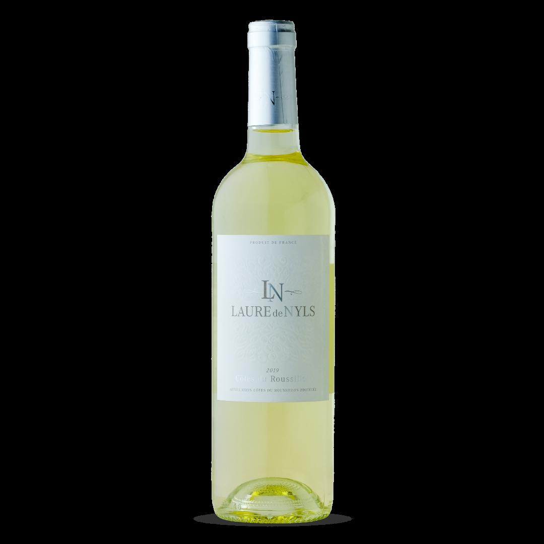 vin blanc cotes du roussillon AOP Laure de Nyls