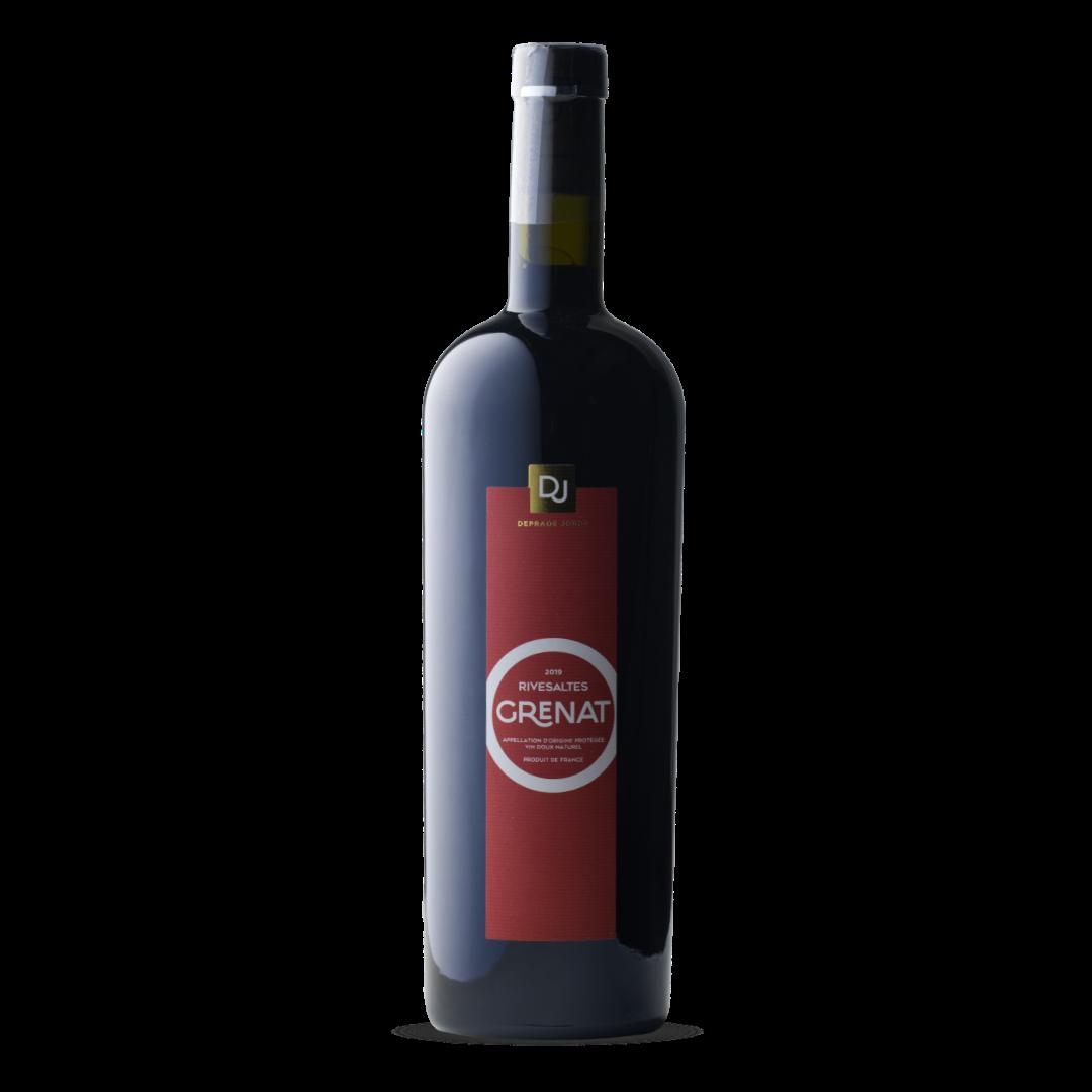 vin doux naturel rivesaltes grenat AOP domaine deprade jorda