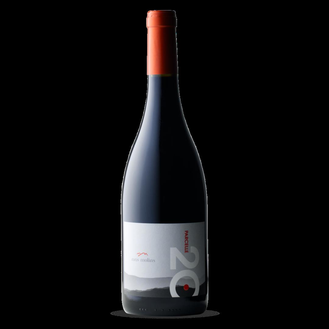 vin rouge parcelle 20 mas molins