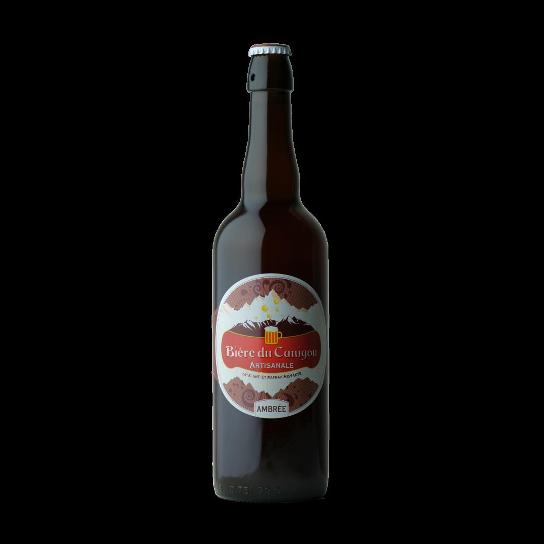 bière du canigou ambrée 75cl