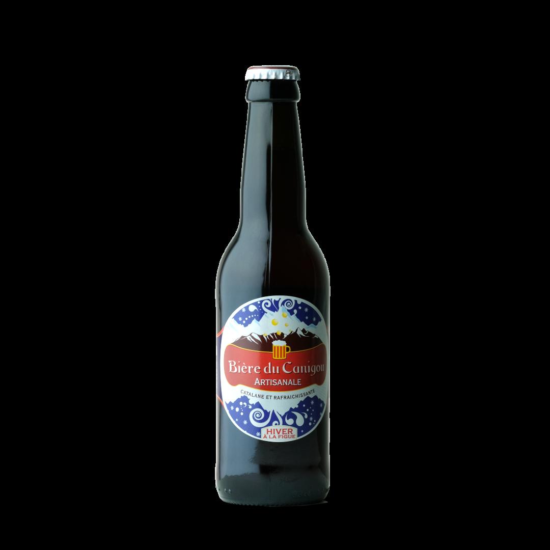 biere du canigou artisanale biere d'hiver à la figue
