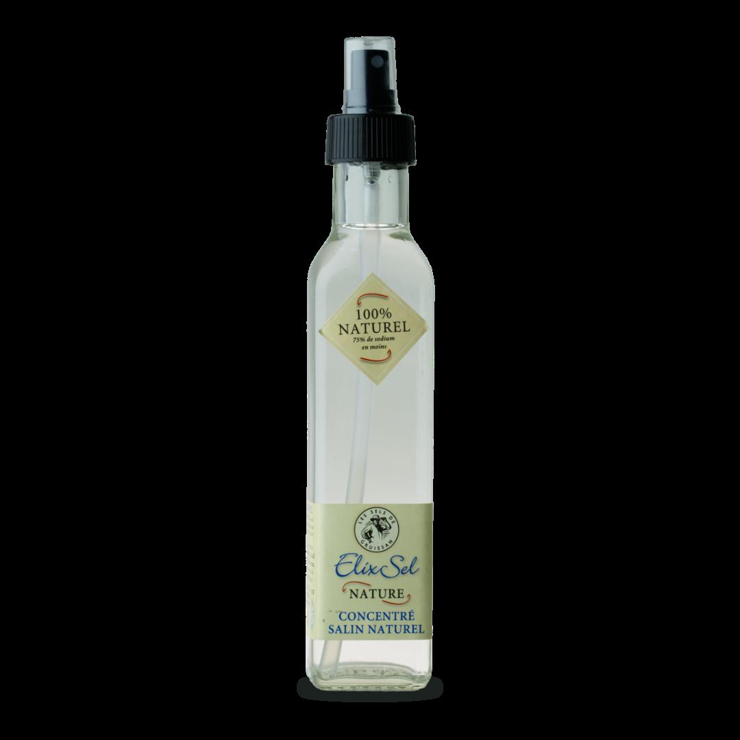 Elix Sel Nature concentré salin naturel Les sels de Gruissan