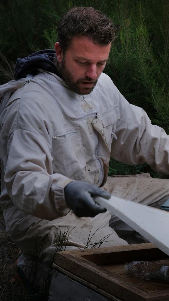 Etienne Arnaudies apiculteur