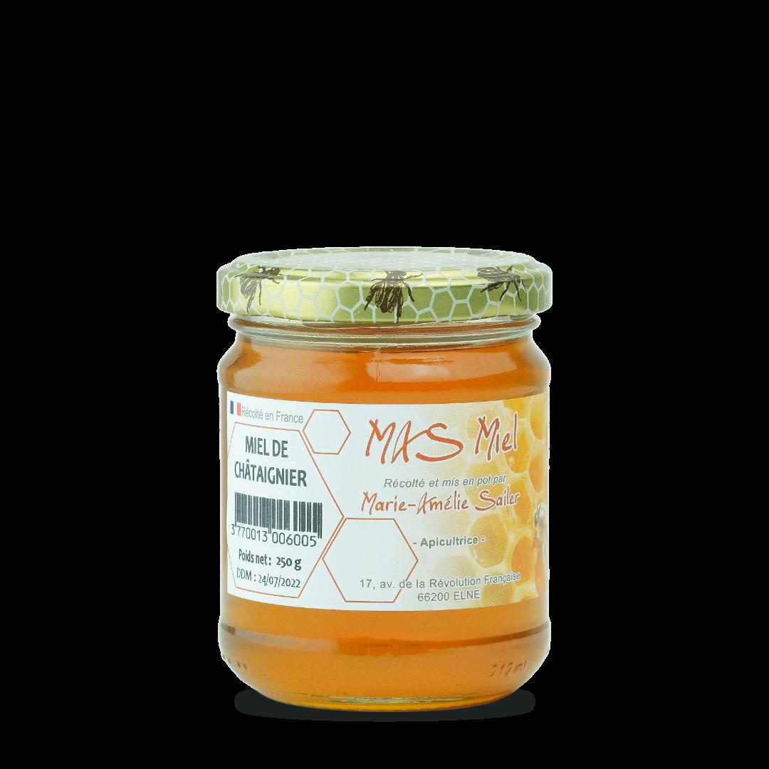 miel de chataigner mas miel 250 g