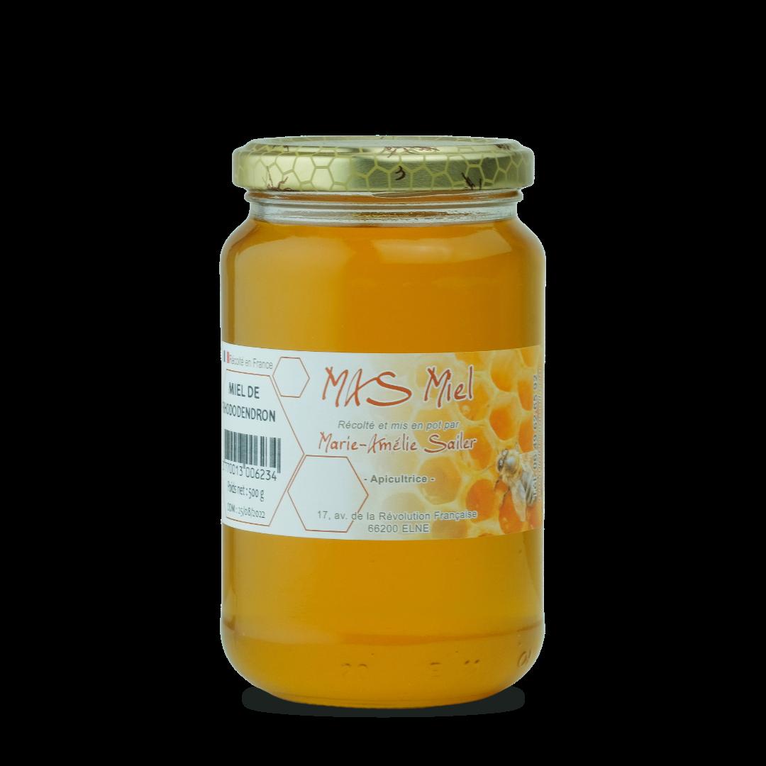miel de rhododendron mas miel 500 g