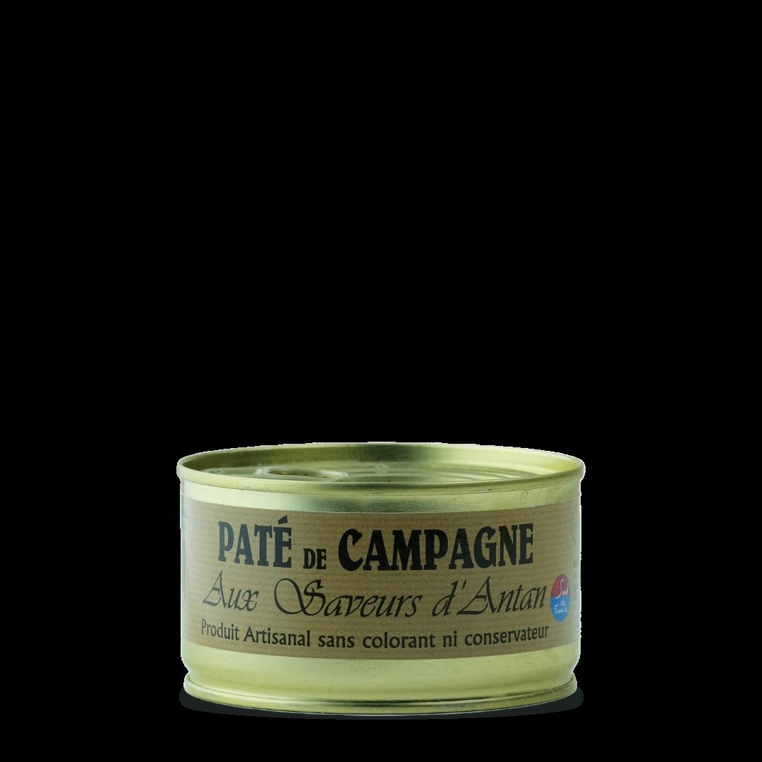 Pate de campagne aux saveurs d'antan produit artisanal sans colorant ni conservateur fitou