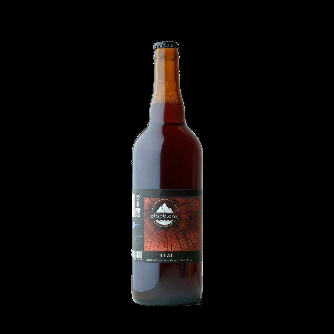bière ambré ullat blaoblank 75cl