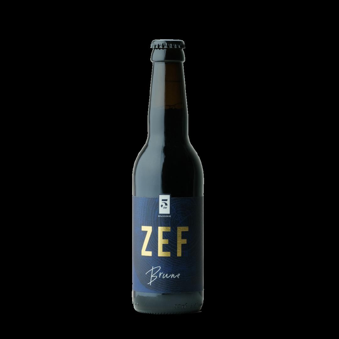 bière zef brune brasserie 5 bis
