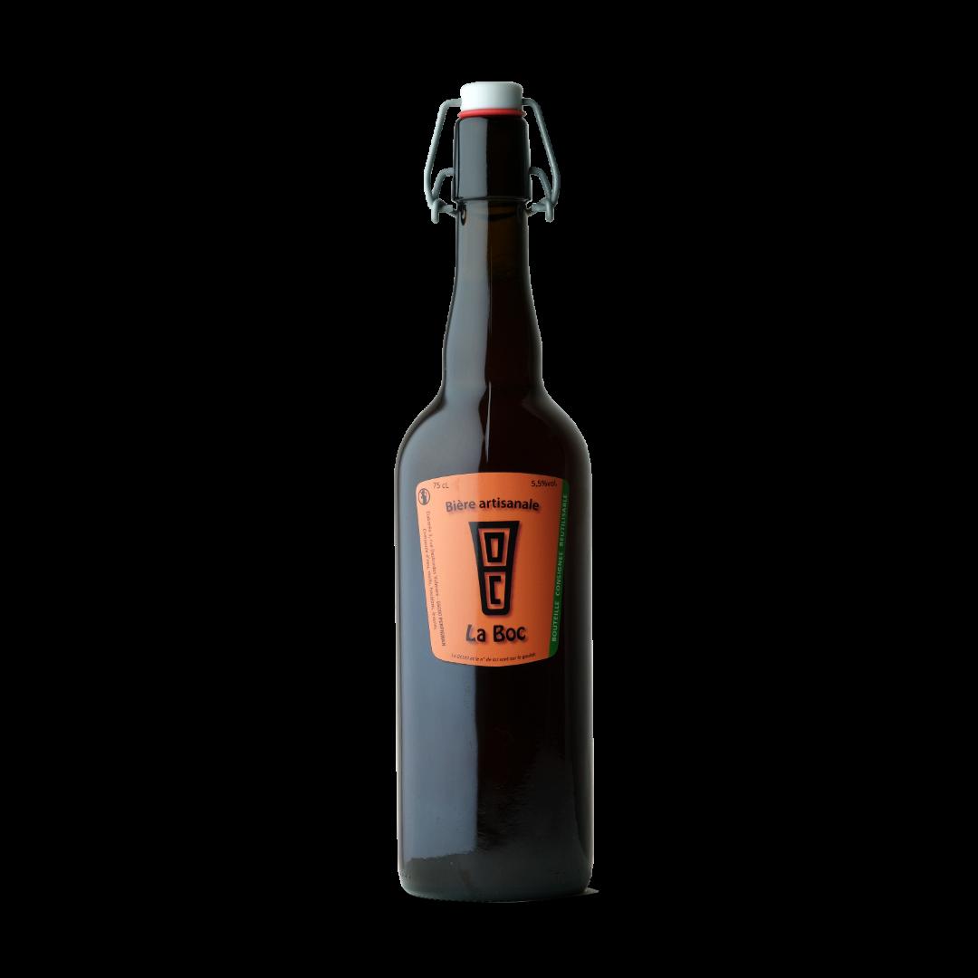 Bière La Boc Rousse 75cl