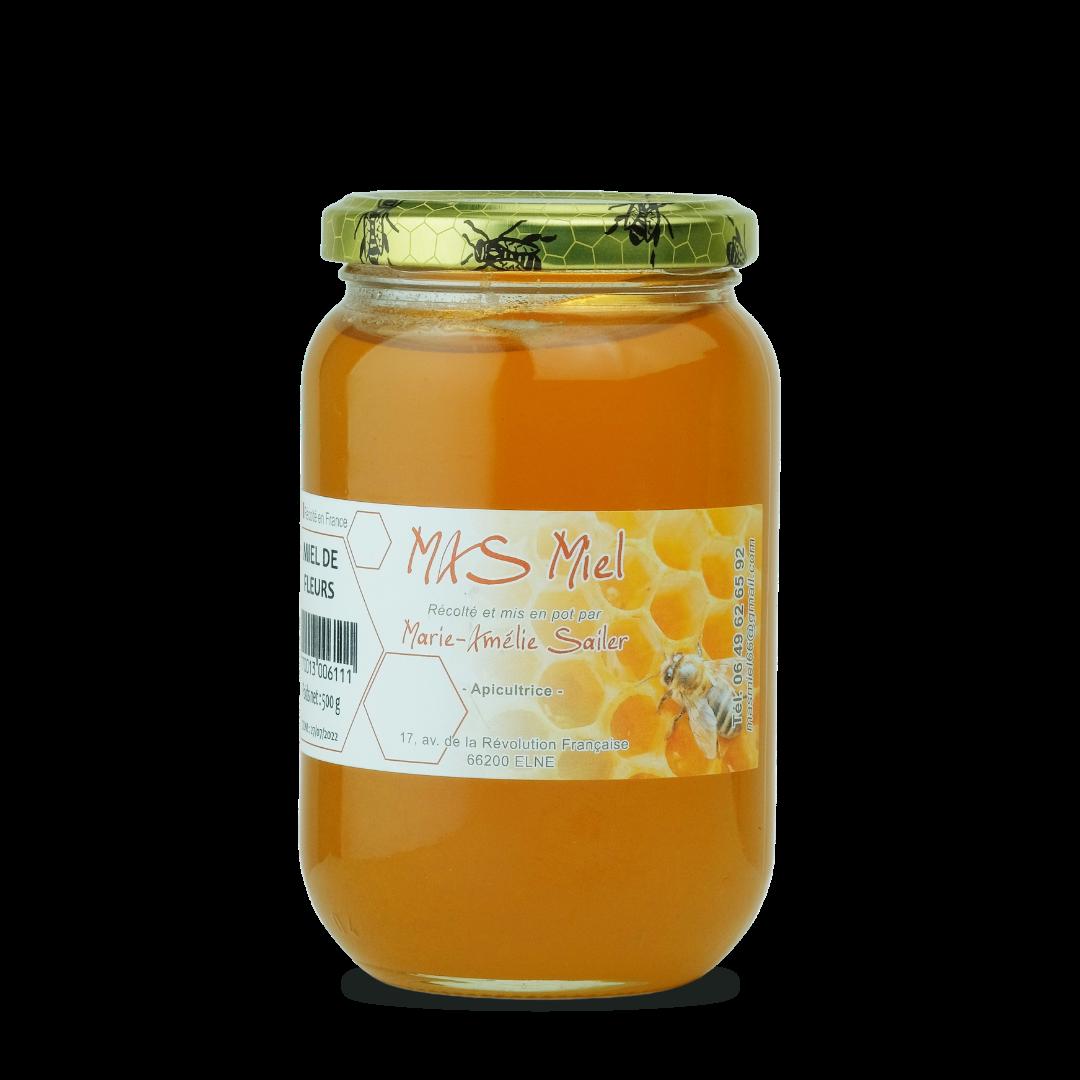 Miel de Fleurs 500g Mas Miel